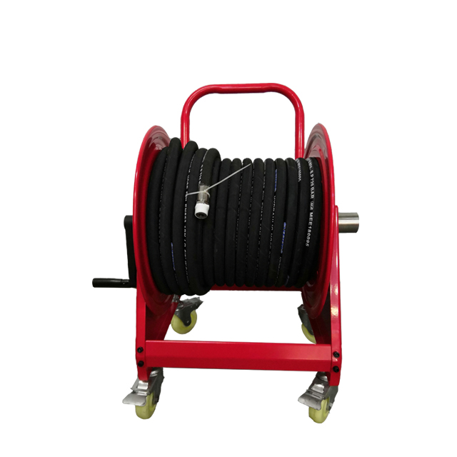 Manual hose reel | Hose reel with wheels AMSH500D