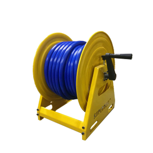 Hand crank air hose reel | Roll up hose reel AMSH500D