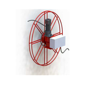 Heavy duty retractable extension cord reel | Outdoor cable reel EESC1800S