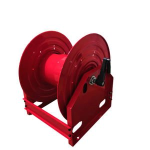 Retractable air hose reel without hose | Hose reel cart AMSH680D