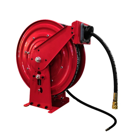 Heavy duty hose reel wall mount | 50 foot hose reel ASSH500D