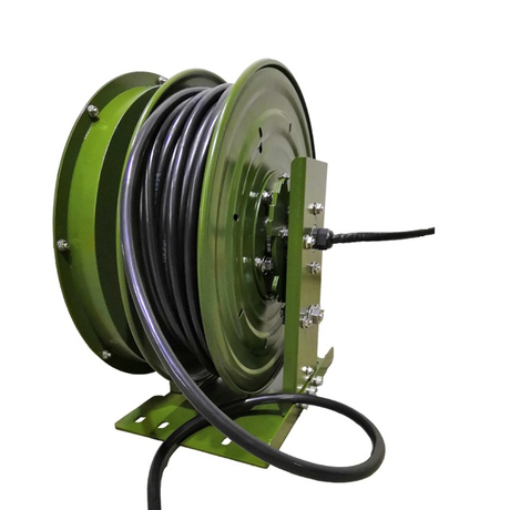 Steel cable reel | Harbor freight cord reel ESSC500D