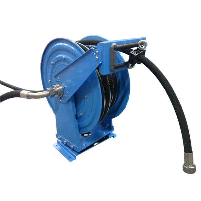 Post mount hose reel | Irrigation hose reel ASSH500D